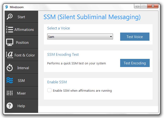 Silent Subliminal Software makes Silent Subliminals