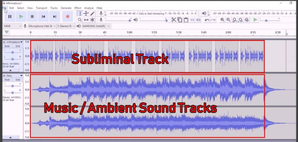 After copy and paste the tracks should be similar lengths.