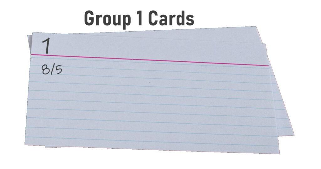 Index Card Illustration