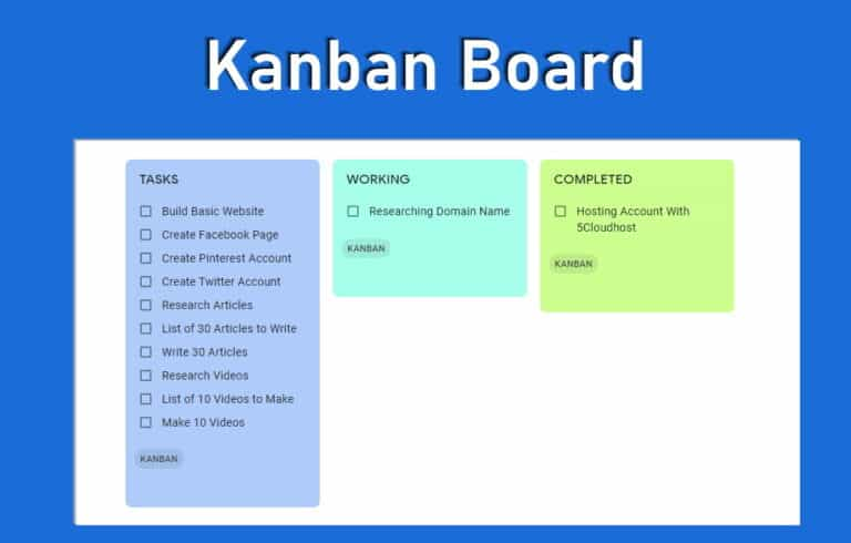 How to Create a Kanban Board in 3 Easy Steps