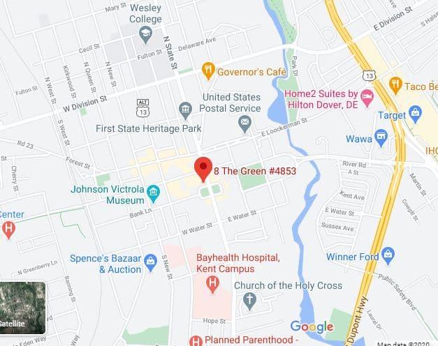 Dover Google Map