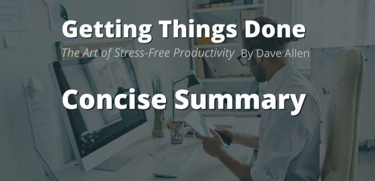 New Getting Things Done Illustrated Summary